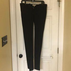 Black Burberry pants